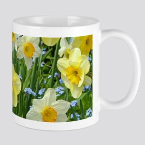 Yellow Spring Daffodils Mugs